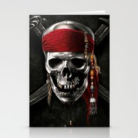 pirate Stationery Cards featuring PIRATE by Acus