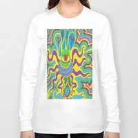 trippy Long Sleeve T-shirts featuring trippy by Mik3c0utur3