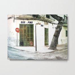 Bar Majorca Metal Print