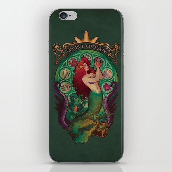 Sous La Mer iPhone & iPod Skin
