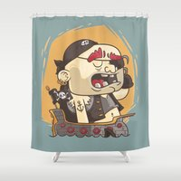 pirate Shower Curtains featuring Pirate!!! by Mr Lemonade