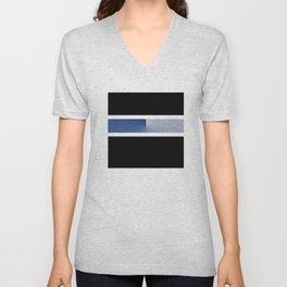Team Colors 3....navy, blue gray Unisex V-Neck
