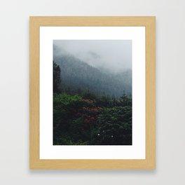 Ketchikan Mountains Framed Art Print