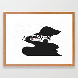 919 Hybrid Framed Art Print