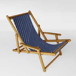 Lines (Navy) Sling Chair