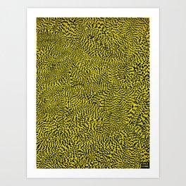 Tiger Tail Art Print