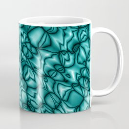 Chaotic heavenly soap bubbles with a pattern of blurry mirrors.  Coffee Mug