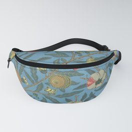 Fruits by William Morris 1862 Antique Vintage Pattern CC0 Spring Summer Fanny Pack