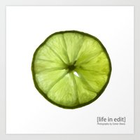 lime Art Prints featuring Lime by Esmer Olvera