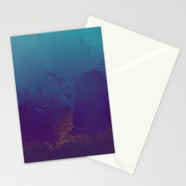 Purple And Teal Texture Stationery Cards