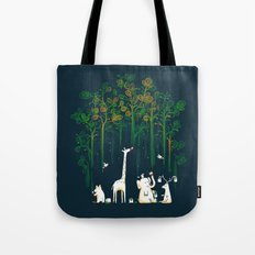 Re-paint the Forest Tote Bag