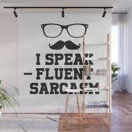 Sarcastic Sarcasm Wall Mural