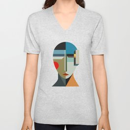 WOMAN OF WHEN Unisex V-Neck