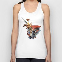 western Tank Tops featuring Western by Lerson