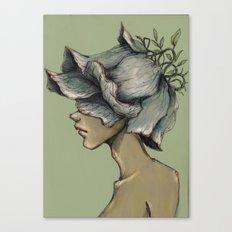 Leaf Boy Canvas Print