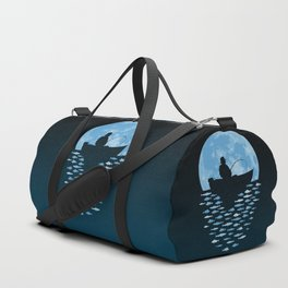 Hooked by Moonlight Duffle Bag