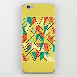Mirrors - Composition in Yellow iPhone Skin