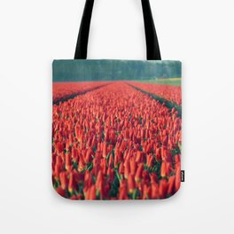 Tulips field #8 Tote Bag