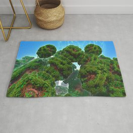 Bacterium Hedgerow Rug