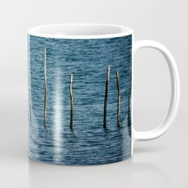 Wooden stakes. Coffee Mug
