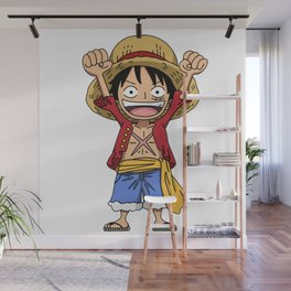 Monkey D. Luffy Wall Mural