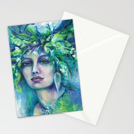 Flidais Celtic Goddess Stationery Cards
