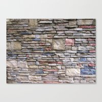 solid Canvas Prints featuring Solid by Teresa Connell