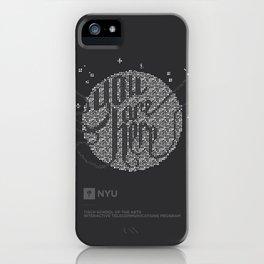 YOU ARE HERE  [Funfetti] iPhone Case