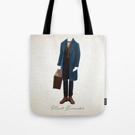 Newt Scamander Costume Tote Bag