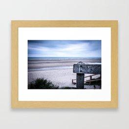Across the Channel Framed Art Print