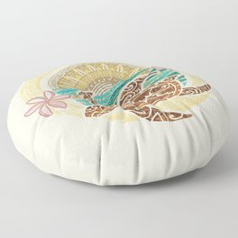 If We Tollerate This Eco Turtle Floor Pillow