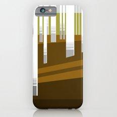 Minimal Finland (silver birch forest) iPhone 6s Slim Case