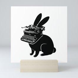 Comic - Follow The Rabbit Scribe Mini Art Print