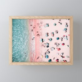 Ocean Print, Beach Print, Wall Decor, Aerial Beach Print, Beach Photography, Bondi Beach Print Framed Mini Art Print