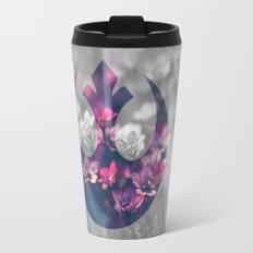 Floral Rebel Alliance Travel Mug