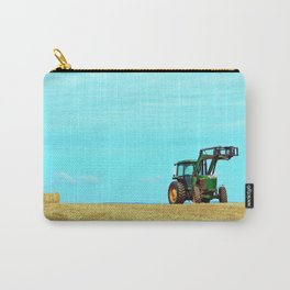 Tractor and Hay Roll on the Ridge Carry-All Pouch