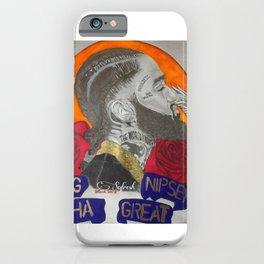 Young Nipsey The Great iPhone Case