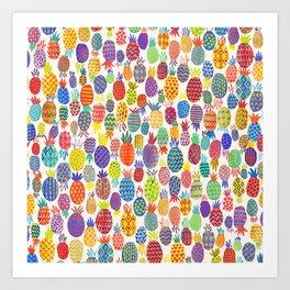 Piñas Art Print