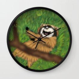Raccoon Series: Oops! Wall Clock