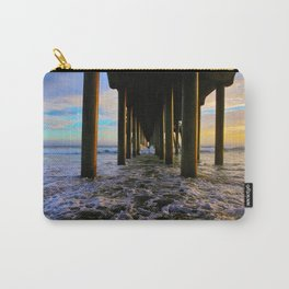 Sunset Under The HB Pier  9/1/13 Carry-All Pouch