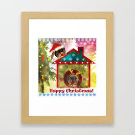 It's a fun holiday... the New year. Framed Art Print