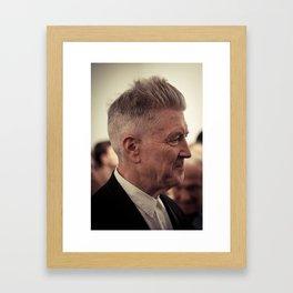 David Lynch (Profile) Framed Art Print