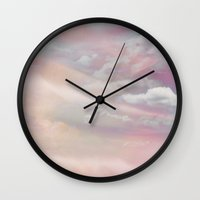 celestial Wall Clocks featuring Celestial by KunstFabrik_StaticMovement Manu Jobst