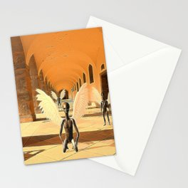 Ancient Alien Angels Stationery Cards