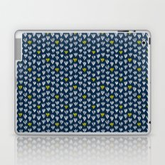 Pattern in blue and yellow Laptop & iPad Skin