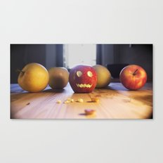 This halloween I want to be a pumpkin!!! Canvas Print