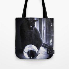 Feline Fortune Teller Tote Bag