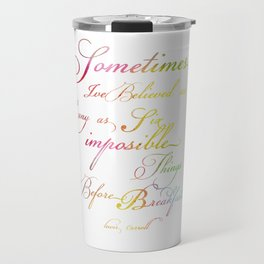 Impossibles Travel Mug