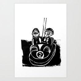 Connemara Bumpers Art Print