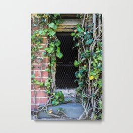 Water Tower Window Metal Print